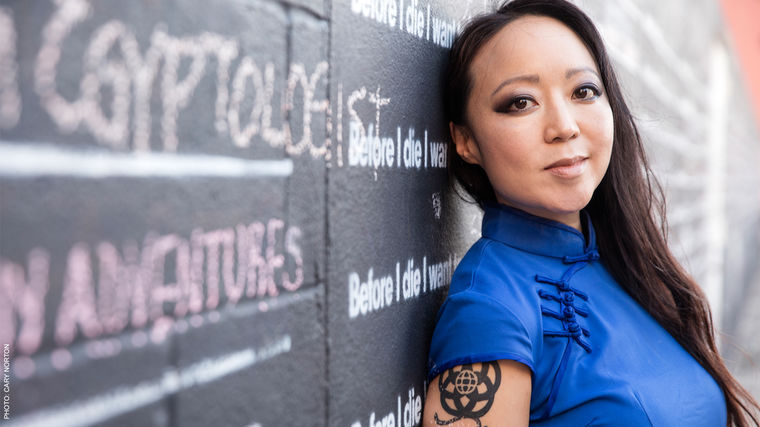 "Candy Chang | Urban Space Artist Behind the ""Before I Die"" Walls"
