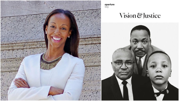 "Sarah Lewis | Author of The Rise, Guest-Editor of Aperture's ""Vision & Justice"" Issue"